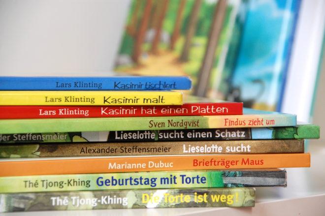 Lieblingsbücher Vierjährige